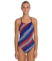 Speedo Endurance + Razor Dot Free Back Training Swimsuit
