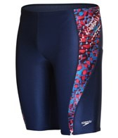 Speedo PowerFLEX Shatter Skin Jammer Swimsuit