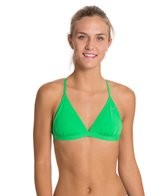 Speedo Solid Tie Back Swimsuit Top