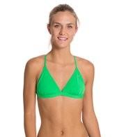 Speedo Solid Tie Back Swimsuit Top