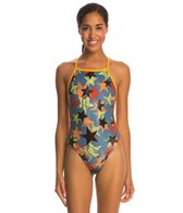 Speedo Star Brite Extreme Back One Piece Swimsuit