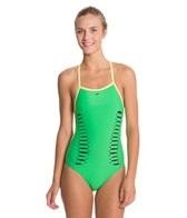 Speedo Laser Cut Extreme Back One Piece Swimsuit
