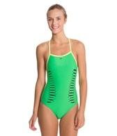 Speedo Laser Cut Extreme Back One Piece Swimsuit