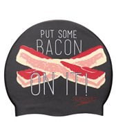 Speedo Bacon On It Silicone Swim Cap