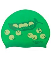Speedo World Peas Silicone Swim Cap