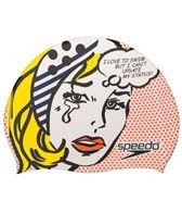 Speedo Pop Girl Silicone Swim Cap