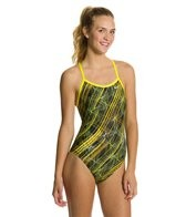 Nike Swim Epic Lights Classic Lingerie Tank One Piece Swimsuit