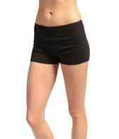 Marika Flat Waist Hot Short