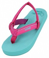 Reef Youth Girls' Little Stitched Cushion Sandal