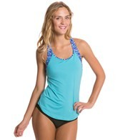 TYR Lunetta 2 in 1 Removable Cup Tankini Top