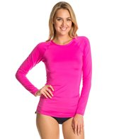 TYR Solids Long Sleeve Swim Shirt