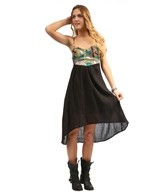 Billabong Cave Dancin Hi Lo Dress