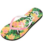 Roxy Girls' Pebbles V Flip Flop