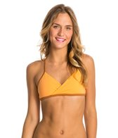 Seea Ensenada Apricot Triangle Bikini Top