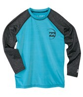 Billabong Boys' Iconic Long Sleeve Surf Tee