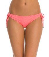Oakley Women's Optic Fiber Solid Legend Tunnel Tie Side Bikini Bottom