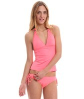 Oakley Women's Optic Fiber Solid Break Water Tankini Top