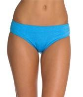 Oakley Women's Optic Fiber Solid Hip Hugger Bikini Bottom