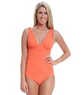 carmen-marc-valvo-mediterranean-solids-shirred-one-piece