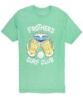 Rip Curl Men's Frother's Surf Club Heather Short Sleeve Tee