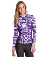 Shebeest Women's Bellissima Tigress Long Sleeve Cycling Jersey