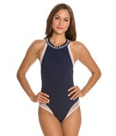 Carmen Marc Valvo Massai Glamour High Neck One Piece