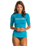 Rip Curl Women's Surf Team Short Sleeve Rashguard