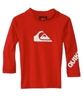 Quiksilver Boys' All Time Infant Long Sleeve Rashguard