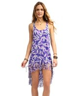 hobie-plumed-fringe-hi-lo-dress