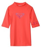 Roxy Girls' Whole Hearted S/S Rashguard