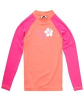 Roxy Girls' Island Fever Long Sleeve Rashguard