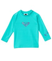 Roxy Girls' Whole Hearted Infant Long Sleeve Rashguard