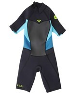Roxy Girls' 2/2MM Syncro Back Zip Spring Suit Wetsuit