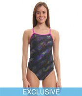 The Finals Funnies Galaxy Wing Back One Piece Swimsuit