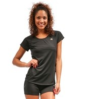 New Balance Women's Momentum Running Short Sleeve