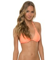 L-Space Swimwear Sensual Solids Le Chic Triangle Bikini Top