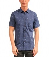 Quiksilver Men's Beacons Short Sleeve Shirt