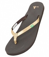 Sanuk Women's Yoga Joy Metallic Flip Flop