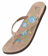 Sanuk Women's Flora The Explora Flip Flop