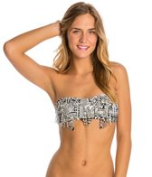 Billabong Africa Love Fringe Bandeau Bikini Top