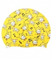 Sporti Chicken Dance Silicone Swim Cap Jr.