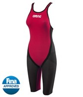 Arena Powerskin Carbon Flex Full Body Short Leg Open Back Tech Suit Swimsuit