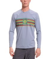 Xcel Men's Island Hybrid Ventx Long Sleeve Surf Tee