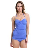 Skye So Soft Solids Bandeau One Piece Swimsuit