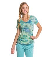 Pure Karma Ohau Tie Dyed Yoga Shirt