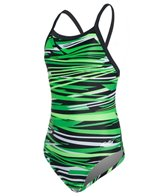 Dolfin Styx Youth V-2 Back One Piece Swimsuit