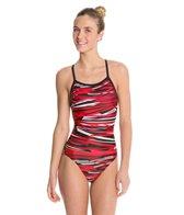Dolfin Styx Female V-2 Back One Piece Swimsuit