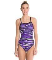 Dolfin Styx Female V-2 Back One Piece Swimsuit