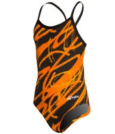 Dolfin Chloroban Ceres Youth V Back One Piece