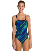 Dolfin Chloroban Ceres Female V Back One Piece Swimsuit